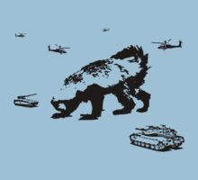 Honey Badger Zilla by jezkemp