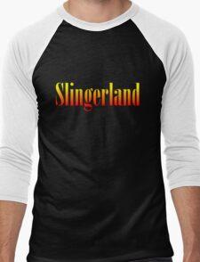 Vintage Slingerland Colorful Men's Baseball ¾ T-Shirt