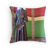 Jeanette Rankin Throw Pillow