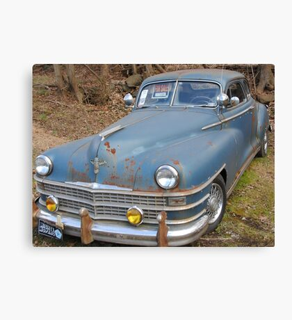 Old Chrysler Canvas Print