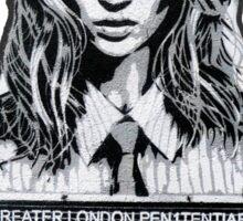 Kate Moss Stencil from London Sticker