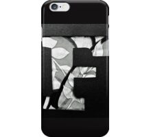 Letters of the alphabet  F iPhone Case/Skin