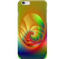 Psychedelic Oval Spiral iPhone Case/Skin