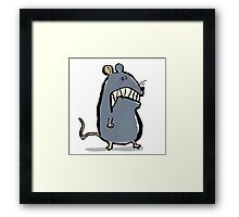 mad mouse Framed Print