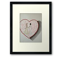 Couples Love Framed Print