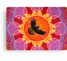 Flight of the Black Cockatoo Canvas Print