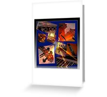 Glory of Music Collage Greeting Card