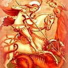 Saint George and the dragon by ©The Creative  Minds