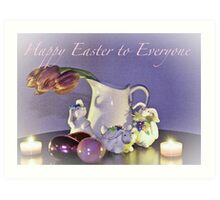 Happy Easter Everyone Art Print