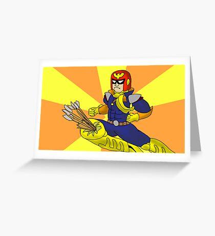 FALCON ROH DAH Greeting Card