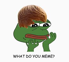 what do you mean? meme* Unisex T-Shirt