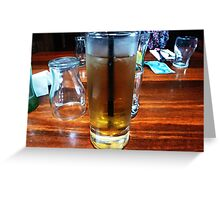 *Brandy & Dry at Luncheon -Victoria Hotel, Woodend*  Greeting Card