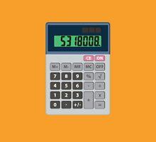 5318008 Leet Calculator Womens Fitted T-Shirt