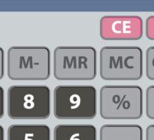 5318008 Leet Calculator Sticker