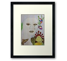 Tropical Tears Framed Print