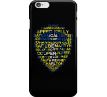 Leeds United Best Players Badge iPhone Case/Skin