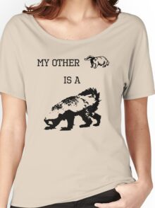 My Other Badger Is A Honey Badger Women's Relaxed Fit T-Shirt