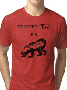 My Other Badger Is A Honey Badger Tri-blend T-Shirt