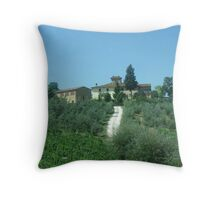Italian Vineyard  Throw Pillow
