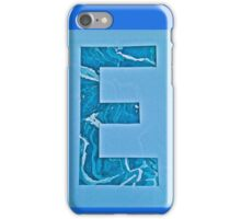 Letters of the alphabet  E iPhone Case/Skin