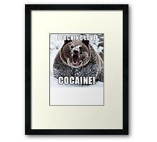 Bear Meme Framed Print