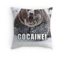Bear Meme Throw Pillow
