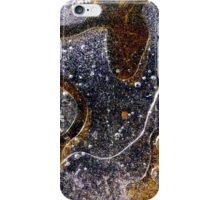 Frozen Puddle Patterns iPhone Case/Skin