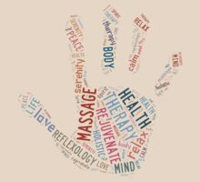 Massage Hand  by Lorie Warren