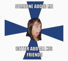 facebook girl meme T-Shirt
