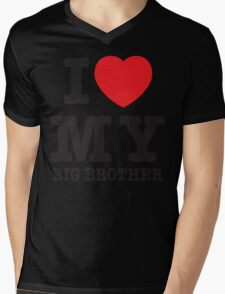 I love my big brother Mens V-Neck T-Shirt