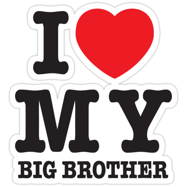 I love my big brother by 305movingart