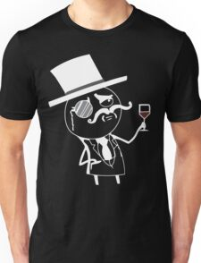 Monocle meme for dark shirts Unisex T-Shirt