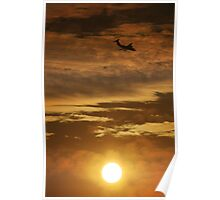 146 at sunset Poster