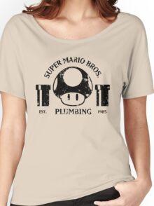 Super Mario Bros. Plumbing Women's Relaxed Fit T-Shirt