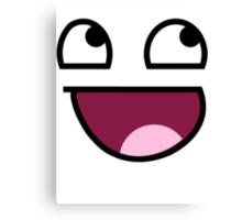 Smiley Meme Canvas Print