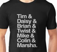 Tim& Daisy & Skip to the end... Unisex T-Shirt