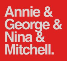 Annie & George & Nina & Mitchell by ideedido