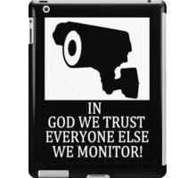 IN GOD WE TRUST iPad Case/Skin