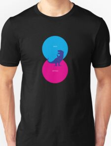 Dinosaur Venn Diagram (Birds + Reptiles) T-Shirt