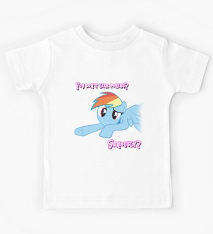 Seriously, you don't like ponies? Kids Tee