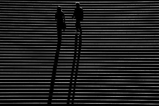 Paris - Marches à l'ombre... by Jean-Luc Rollier