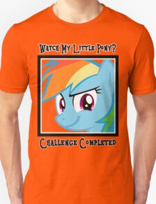 Challenge Accepted Rainbow Dash T-Shirt
