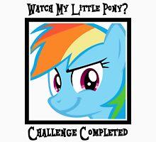 Challenge Accepted Rainbow Dash Unisex T-Shirt