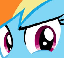 Challenge Accepted Rainbow Dash Sticker