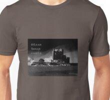 Spooky ~ Eilean Donan Castle in Black Unisex T-Shirt