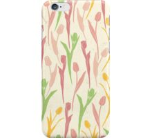 Spring Tulips Flowers iPhone Case/Skin