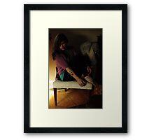Self Portrait, Abandoned House Framed Print