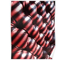 Leather and Stripes Poster