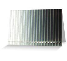 Shades of Gray Greeting Card