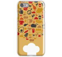 Cap of the cook iPhone Case/Skin